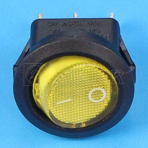 Boat Illuminated 12V LED Light Rocker Switch pictures & photos