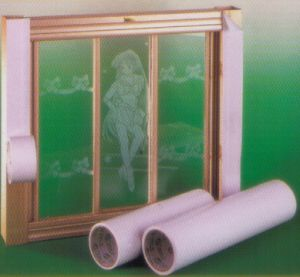 PVC Protection Film for Aluminum Window pictures & photos