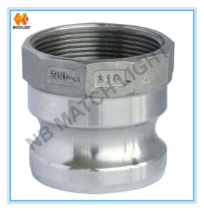 Stainless Steel Adapter Type a Female BSPP Threaded Quick Coupler pictures & photos