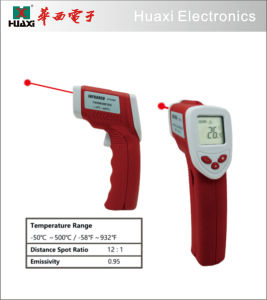 Temperature Gun Non-Contact Digital Laser Infrared Thermometer pictures & photos