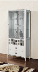 Hot Practical Wooden Wine Cabinet (JG-193A) pictures & photos