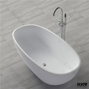 Kingkonree Australia Popular Oval Shape Stone Resin Bath Tub pictures & photos