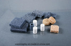 Silicon Carbide/Alumina/Zirconia Ceramic Foam Filter for Casting and Foundry pictures & photos