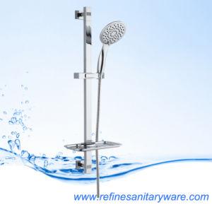 Ss304 Chrome Plated Square Tube Shower Set (RD501N)