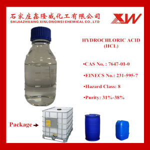 BV/SGS Hydrochloric Acid 32% pictures & photos