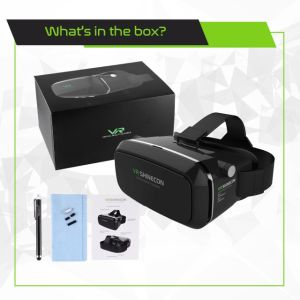 3D Vr Glasses, 3D Virtual Reality Headset Adjust Cardboard Video Movie Game Box for iPhone 6s/6 Plus/6/5s/5c/5 Samsung Smart Phone pictures & photos