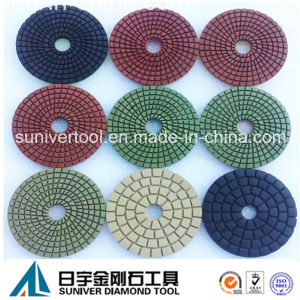 Colorful Series Professional Wet Polishing Pads pictures & photos