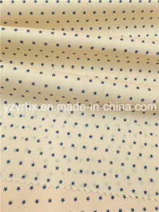 Finished Fabric Cotton / Polyester Fibre Poplin Blue Little Star pictures & photos