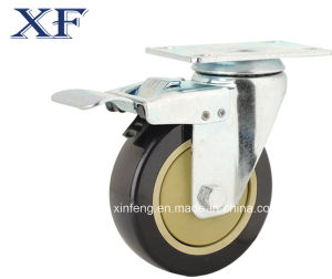 Low Cost High Quality Rubber Castor Wheel and Caster Wheel pictures & photos