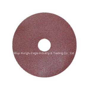 Aluminium Oxide Fiber Disc 150mm Abrasive Fibre Disc pictures & photos