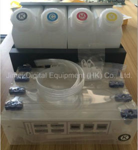 Bulk Ink System with (4+8) Bottle Cartridge Ink Tube Connectors pictures & photos