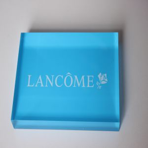 Acrylic Brand Blocks, Plastic Brand Blocks, Custom Acrylic Logo Cube pictures & photos