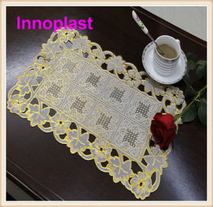 PVC Lace Doilies/ Table Mat (JFCD-22) pictures & photos