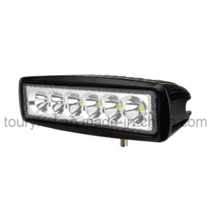 6 Inch 18W LED Work Light for Vehicle Lighting (TR-1618) pictures & photos