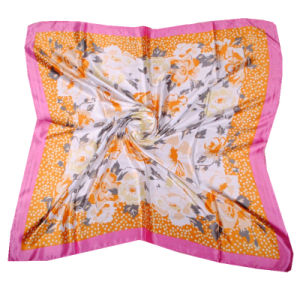 Multi Colors Fashion Design Women Silk Scarf Wholesale pictures & photos