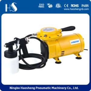 Popular Two Voltage Brazil Portable Air Compressor pictures & photos