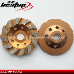 D100mm Segmented Granite and Marble Stone Grinding Wheel pictures & photos