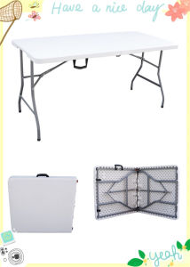 Plastic Folding Outdoor Camping Table pictures & photos