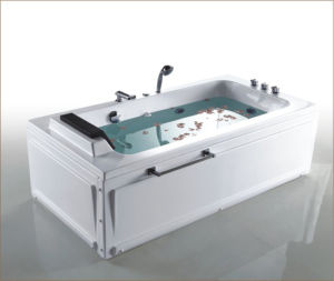 High Class Bathtub with Heavy Duty Motor pictures & photos