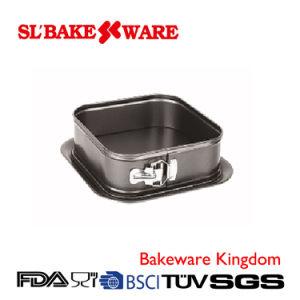 Square Springform Carbon Steel Nonstick Bakeware (SL-Bakeware) pictures & photos