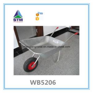 Wb5206 Construction Galvanized Wheelbarrow