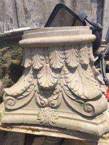 Roman Column Cap Big Size Scamozzi Capital Design Grc Material pictures & photos
