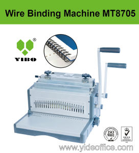 A3 Size Heavy Duty Design Wire 2: 1 Binding Machine (MT8705) pictures & photos