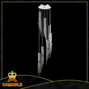 Modern House Designs Crystal Pendant Lamp (KA6617-7W) pictures & photos