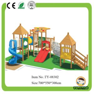 Wooden Colorful Outdoor Playground for Kids pictures & photos