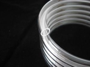 Customized Clear Helical Quartz Glass Tube pictures & photos
