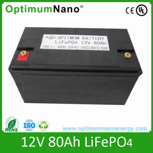 LiFePO4 12V 80ah Battery for Commercial Vehicle pictures & photos