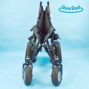 Showgood Light Weight Power Electric Wheelchair Wheel Chair Manufacturer