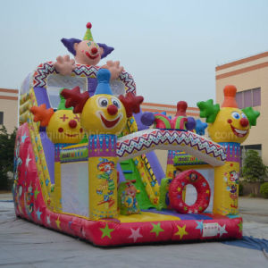 Inflatable Clown Slide (AQ1473) pictures & photos