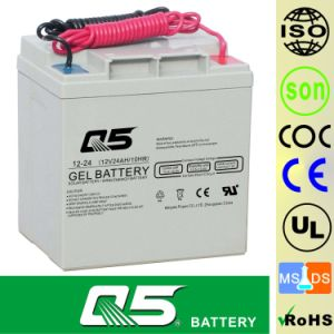 12V24AH, Can customize 20AH, 26AH, 28AH Solar Battery GEL Battery Non standard Customize products Wind Energy Battery pictures & photos