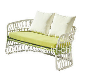 Luxury Cheap White Rattan Wicker Outdoor Furniture Sofa pictures & photos