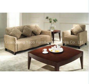 Modern Hotel Sofa Set Wooden Furniture pictures & photos