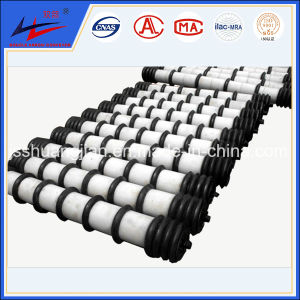 Clean Rubber Conveyor Roller Factory pictures & photos
