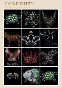 Hot Fix Motif, Rhinestone Motif, Rhinestud Motif, Hot Fix Design, Hot Fix Transfer pictures & photos