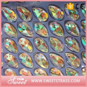 Factory Wholesales Sparkle Jewerlry Glass Crystal for Wedding pictures & photos