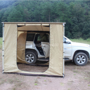 Practicability Camping Roof Top Tent with Side Awning