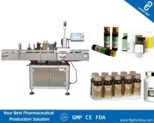Automatic Drinking Glass Bottle Paper Labeling Machine pictures & photos