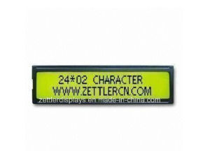 Stn LCD Display Module Character Display 24X2 Lines: Acm2402c-FL-Ybh pictures & photos