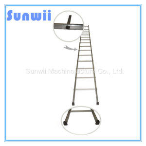 Aluminum/Aluminium/Steel Straight Ladder for Construction, Scaffold pictures & photos