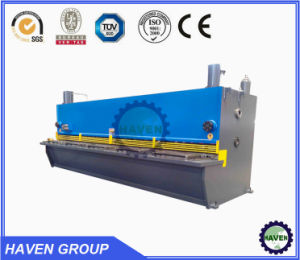 QC11Y-20X6000 E10 Hydraulic Guillotine Shearing and Plate Cutting Machine pictures & photos