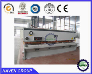 CNC Hydraulic Metal Shearing (QC12Y-6X3200 E21S) with CE standard pictures & photos