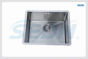 Handmade Stainless Steel Single Bowl Sink (SB1009) pictures & photos