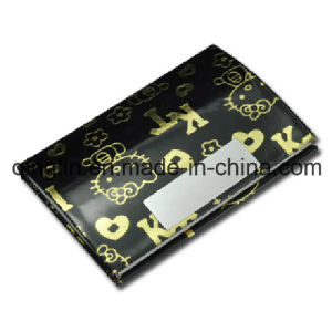 Lady′s Gift Hello Kitty Leather Name Card Case (QL-MPH-0012) pictures & photos