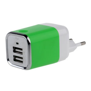2USB/3.1A with LED American Standard/ European Standard Charger pictures & photos