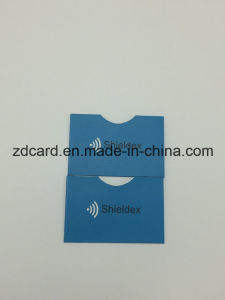 Aluminum Foil Paper RFID Credit Card Holder Sleeve Bag pictures & photos