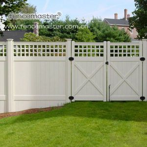 Garden Vinyl Fence for North America pictures & photos